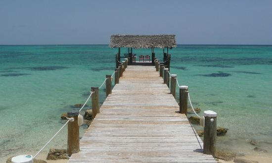 Compass Point Beach Resort: Another image of the pier at Compass Point