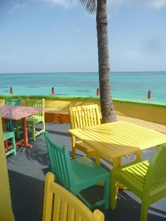 Compass Point Beach Resort: Dining area at Compass Point