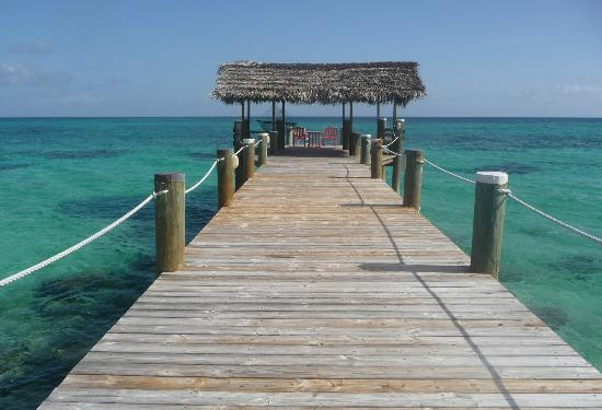 Compass Point Beach Resort: another image of pier at Compass Point
