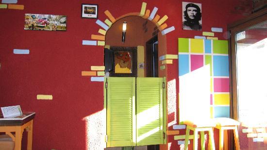Bar Havana: L'entrée des toilettes