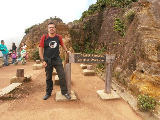 Poas Volcano National Park, كوستاريكا: Mirador al cráter