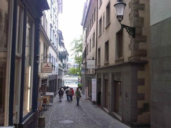 Altstadt Hotel: Street view