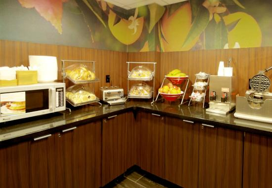 Fairfield Inn & Suites Atlanta Downtown: Complientary Breakfast