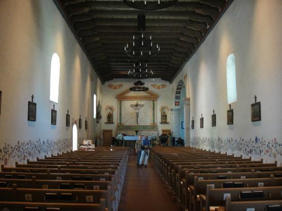 Mission San Luis Obispo de Tolosa: Inside