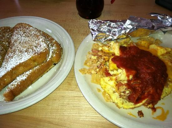 Kerbey Lane Cafe : migas and French toast