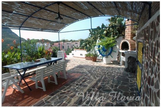 Villa Flavia: Spazio barbecue