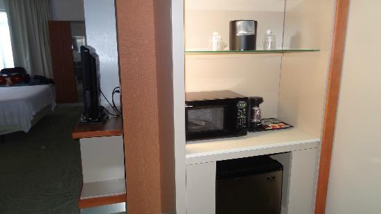 SpringHill Suites Detroit Metro Airport Romulus : Kitchen unit