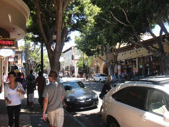 San Luis Obispo, CA: Downtown shopping