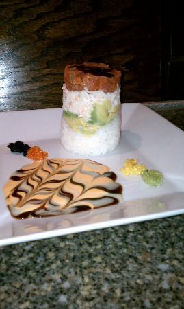 Sushi Zen: Ahi tuna tower - delicious!