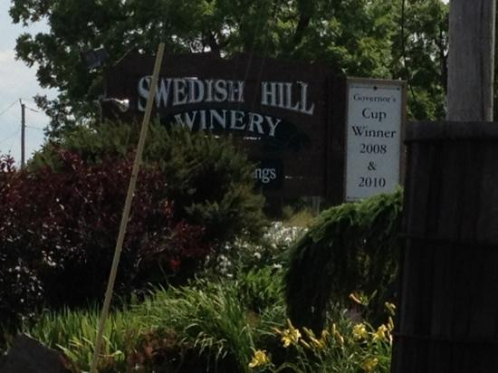 Swedish Hill Winery: the winery