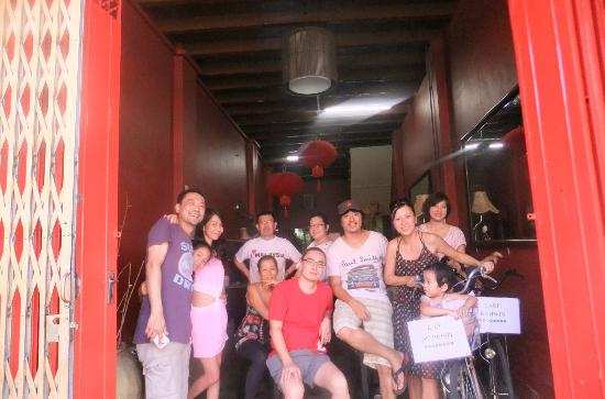 Boutel Heritage House, Jonker St: Group photo