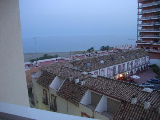 Tamarindos Apartamentos: Lovely view of the sea in the evening