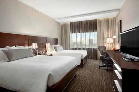 Hilton Garden Inn Santiago Airport: Habitacion Doble cama