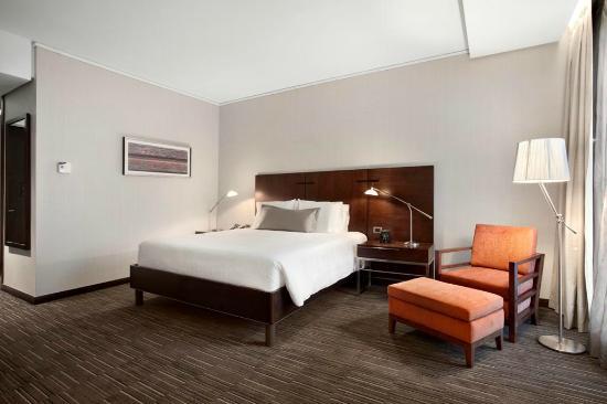 Hilton Garden Inn Santiago Airport: Habitación matrimonial