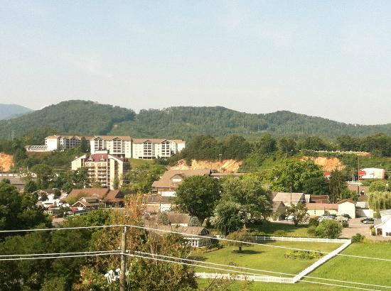 Cherokee Lodge Condos: View From Balcony