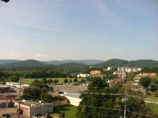 Cherokee Lodge Condos: View from Room