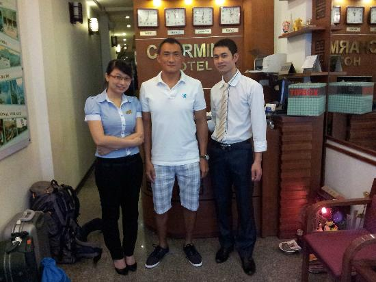 Hanoi Charming Hotel: Checking out on 07 July 2012