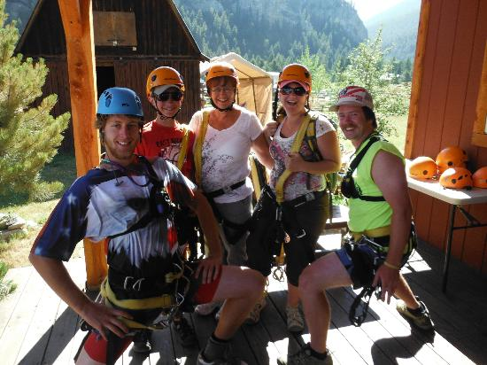 Montana Whitewater Raft Company: Eric and Josh are great zipline guides. Thanks!!