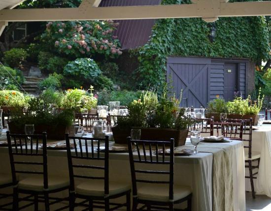 "Hawkesdene House: Luxurious Wedding Reception at Hawkesdene. Our Theme was ""Herb Garden""."