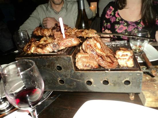 Rak Basar: lots of meat, cooked to order