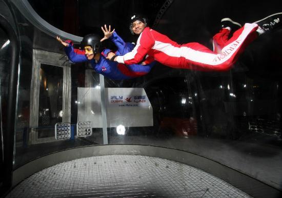 iFly Dubai - Picture of iFly Dubai Indoor Skydiving, Dubai ...
