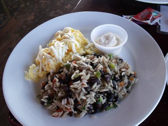 Poas Lodge and Restaurant : My breakfast