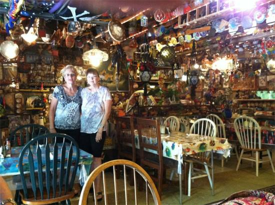 Frank's Bait & Taco: Frank's dining room, 07_07_2012