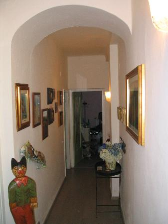 Hallway just inside the entrance of Apartment No. 1. - Picture of ...