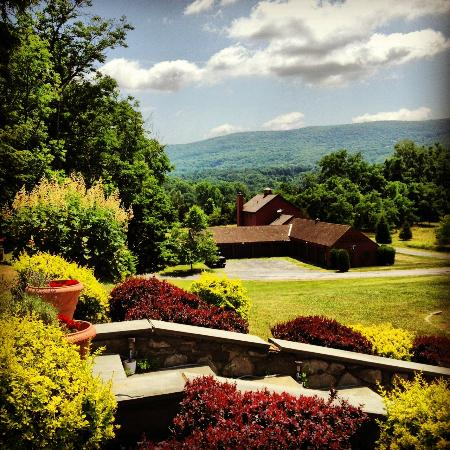 The Storm King Lodge: View from the veranda