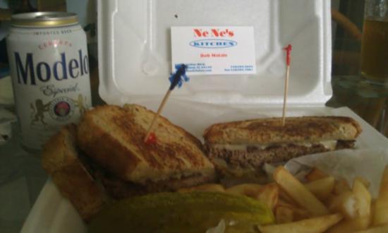 Nene's Kitchen : Patty Melt 1/2 pound Angus Beef