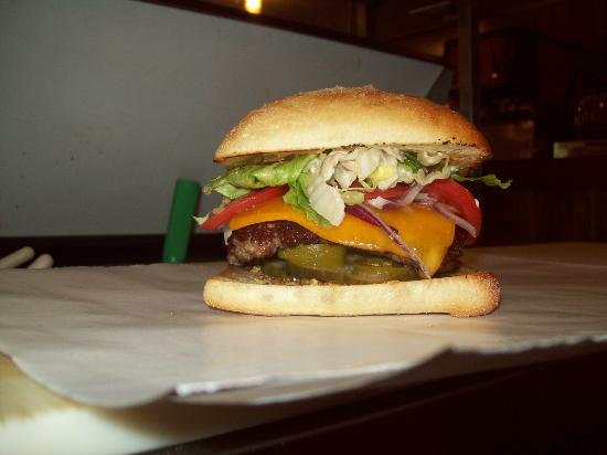 The Dockside Cheeseburger..one of our best seller's!