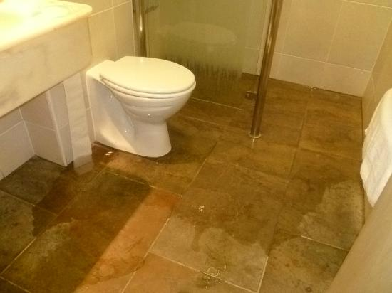 Langstone Hotel: Floor floods when you use the shower!