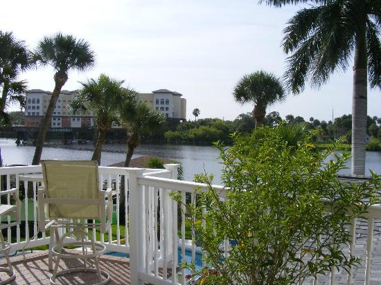 Crane Creek Inn Waterfront Bed and Breakfast: View from Ida Mae