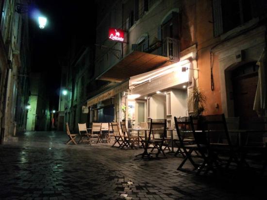 L'autruche : evening view