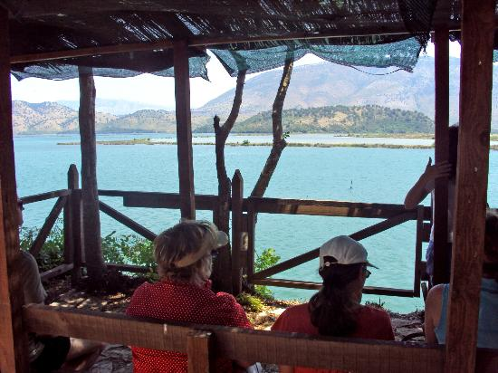 Butrint National Park : a view over the lake at Butrint