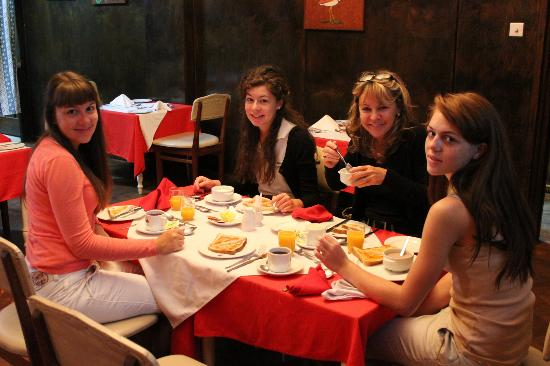 Oakwood Hotel: Petit-déjeuner