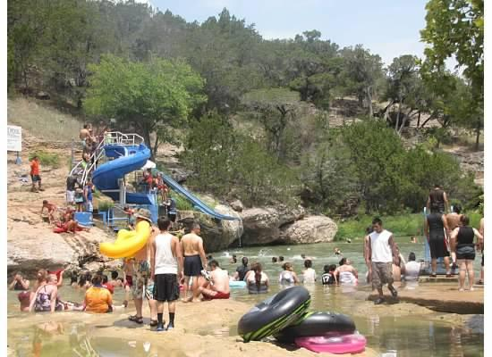 Davis, OK: Water park / pool area