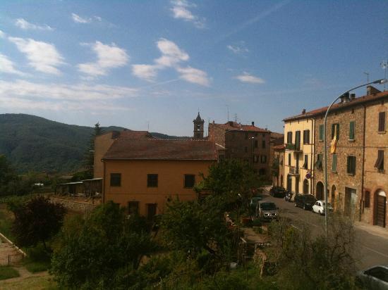 Casa Italia: vue de la chambe: Ciciano 