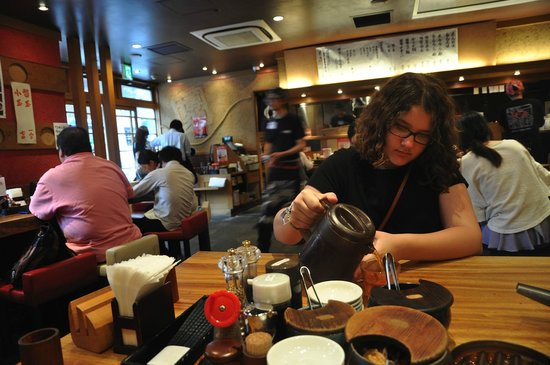 Private Tour:  Edokko Guided Tours of Tokyo: She took us to a great ramen restaurant