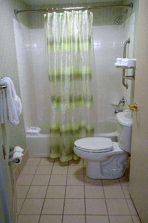 SpringHill Suites Portland Airport: Bathroom