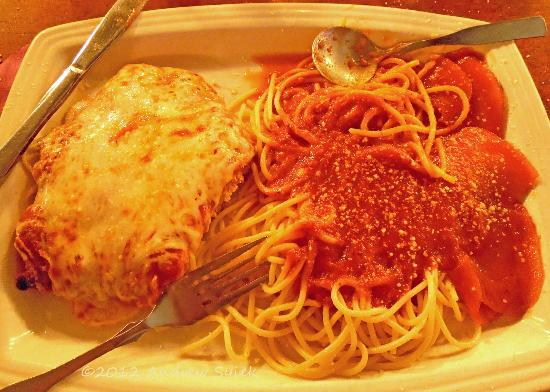 Timothy's Restaurant : Veal Parmigiana Specialty