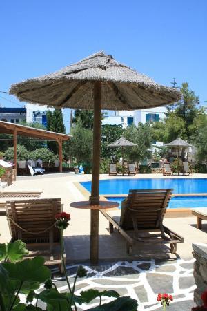 Agios Prokopios Hotel: Pool Area