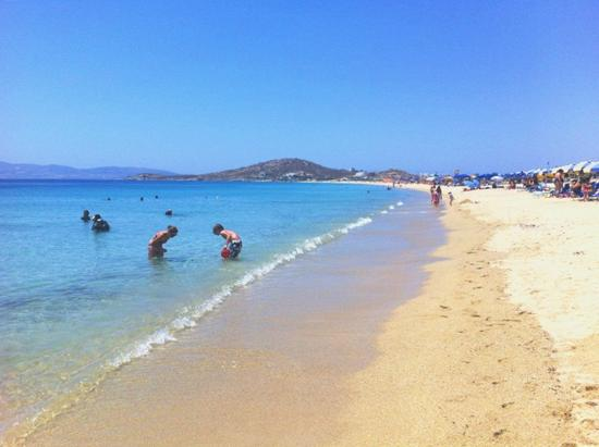 Agios Prokopios Hotel : Agios prokopios beach, excellent for family with children