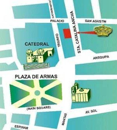 Emperador Plaza Hotel: Plano