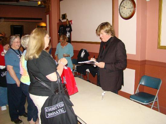 Capitol Theatre Center: Peter Noone autograph line