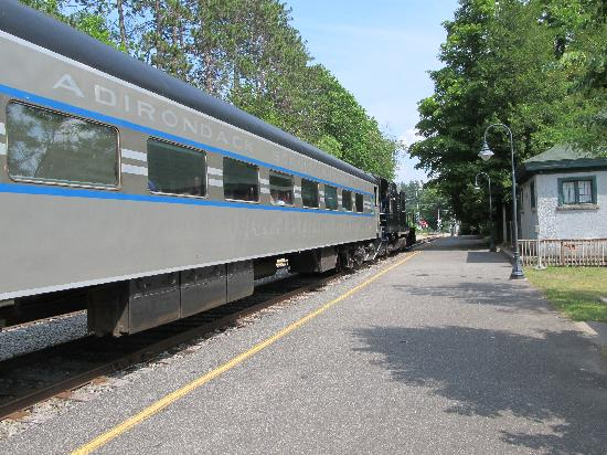 ‪‪Lake Placid‬, نيويورك: Photo of the train