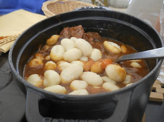 Le Pigeonnier: The fabulous daube with gnocci