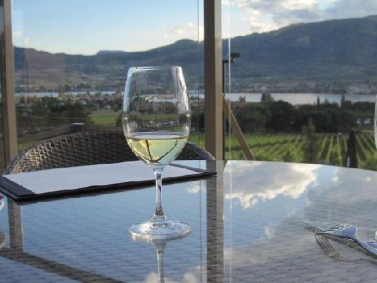 Nk'Mip Cellars: Chardonnay on the deck