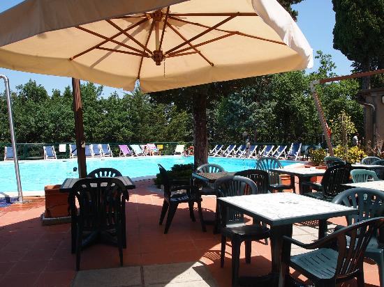 Camping Village Panoramico Fiesole: The pool/ la piscine