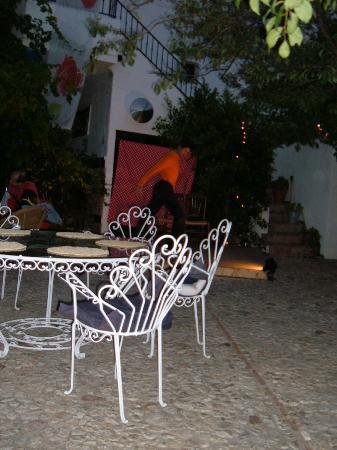 Molino de los Abuelos: seating on the terrace